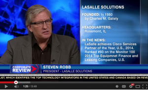 Steve Robb LaSalle Solutions
