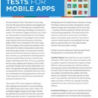 FiveMust doTestsforMobileAppsReadtheArticle