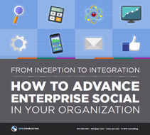 How to Advance Enterprise Social in Your Organization cover