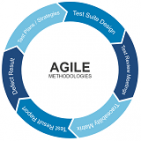 agile methodologies donought chart